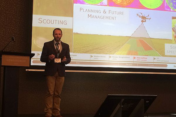 Nigon Presenting at AgroFIELD Conference2